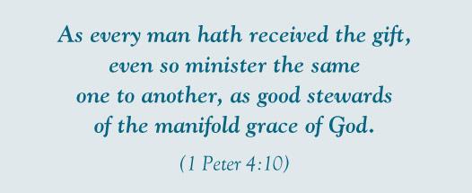 I Peter 4:10